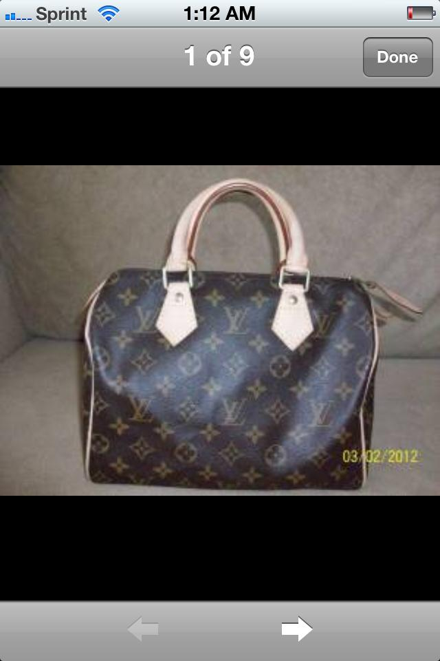 Authentic Louis Vuitton Speedy 25 Photo