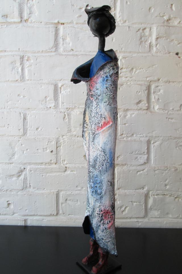 Lady Sculpture Handmade Photo