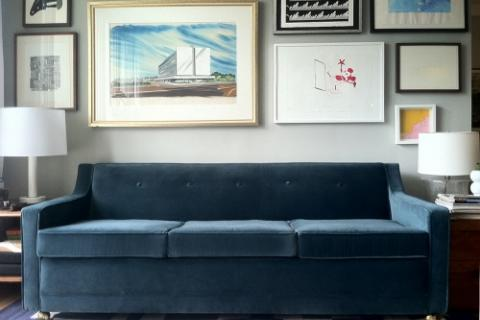 Vintage Custom Designed Sofabed Photo