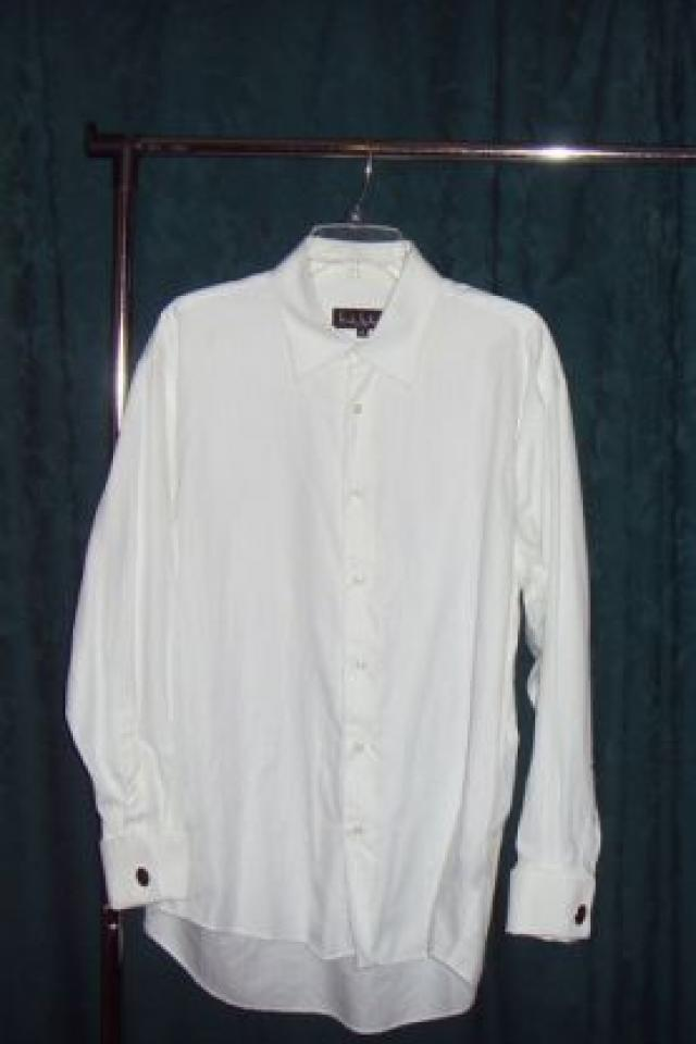 white dress shirt by Nicole Miller Large Photo