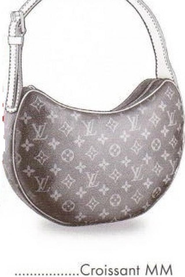 Louis Vuitton Monogram Canvas Croissant MM Large Photo