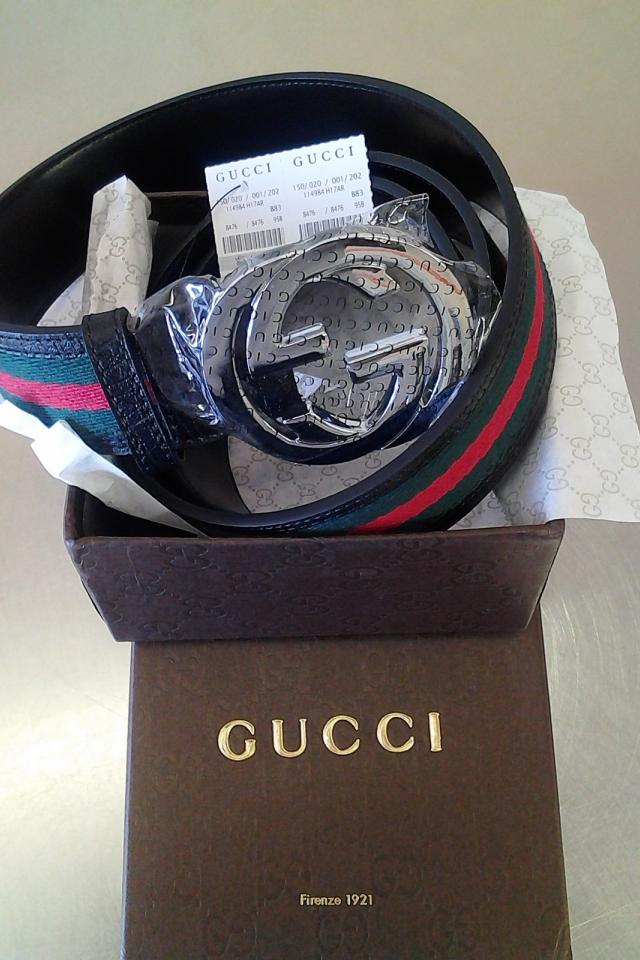 GUCCI WEB BELT  Large Photo