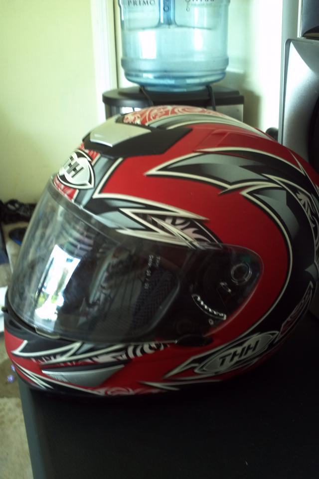 Full face motorcycle helmet Photo