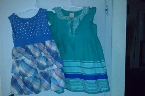 blue dresses Photo