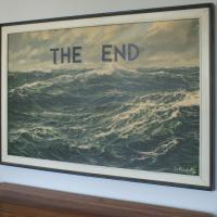 The End Customized Seascape Print Photo