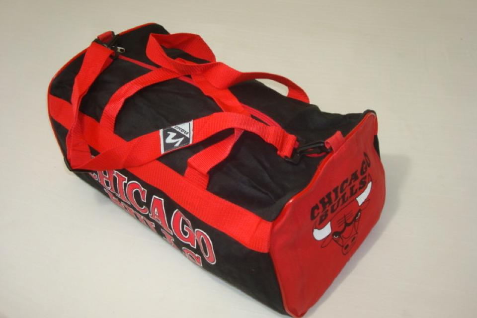 Vintage NASCO Chicago Bulls Duffle Bag  Large Photo