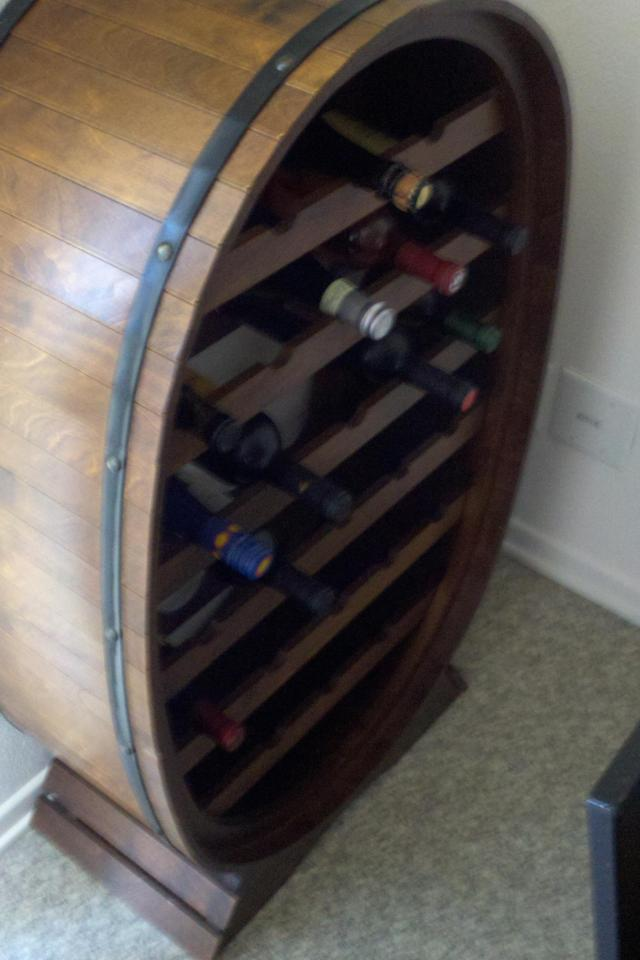 Italian Wine Rack Photo