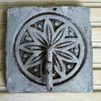 Distressed Cast Iron Coat Hook Photo