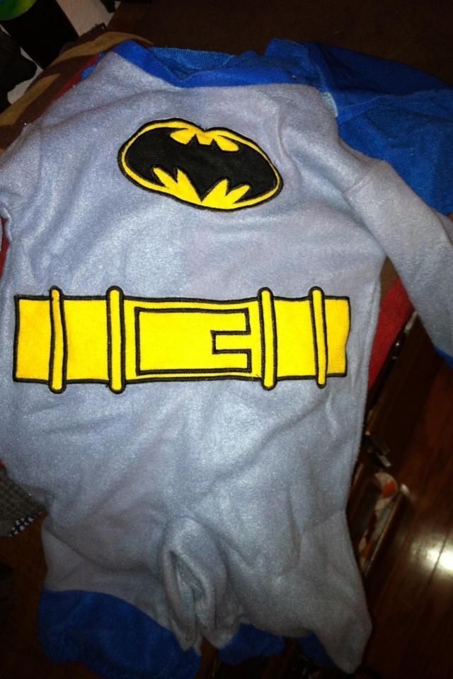 Batman infant outfit  Photo