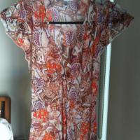 Diane vonFurstenberg silk shirt  Photo