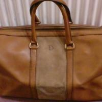 Vintage 70s Christian Dior travel duffle Photo