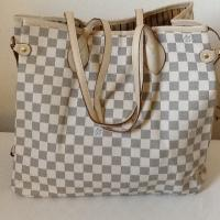 LOUIS VUITTON NEVERFULL DAMIER Azur Medium (Ship 24 hrs) Photo