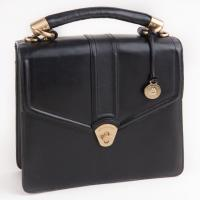 Brahmin - Black Leather Handbag Photo