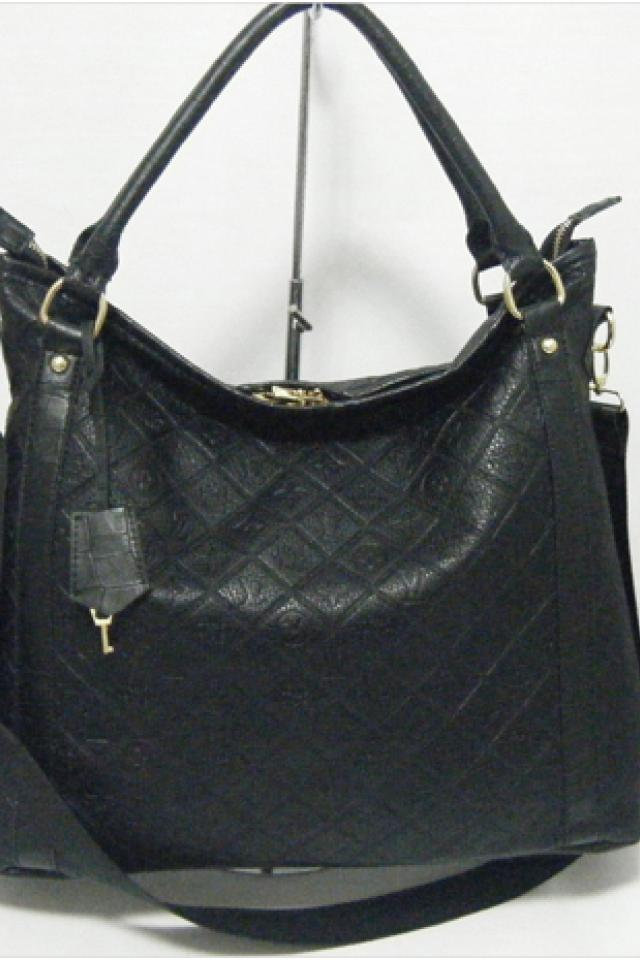 new louis vuitton black leather empreinte tote purse hand bag lv fall style Photo