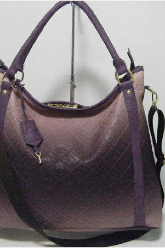 new, louis vuitton, purple, eggplant ,leather, empreinte, tote, purse, hand, bag, lv, fall, style  Large Photo