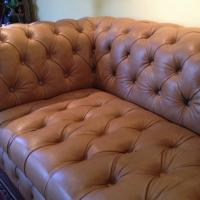 Chesterfield Leather Sofa HD Buttercup Photo