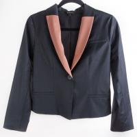 Kova & T - Black Blazer with Blush Colored Trim Photo