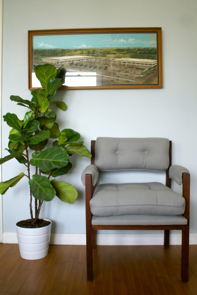 Pair 1970s Grey Chairs Photo