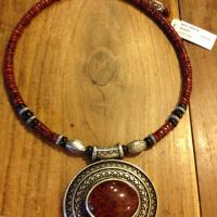 New!  Red Spice Necklace.   Photo