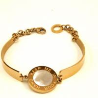 bracelet gold - plating tag Photo