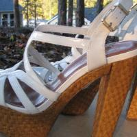 ♥♥♥JESSICA SIMPSON♥♥♥ WHITE PUMPS, NEW Trendy, Size 7.5 STYLISH!!! Photo
