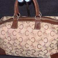 Vintage Celine brown jacquard bag Photo