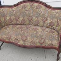Victorian settee love seat Photo
