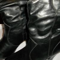 Black Ladies Boots Size 5M Photo
