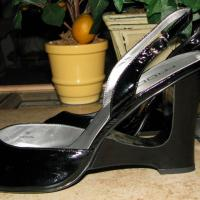 ♥♥♥MODA SPANA♥♥♥ BLACK HIGH HEELS, Sz 12M Trendy, Sexy, NEW!!! Photo