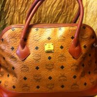 Vintage MCM brown monogram bag Photo