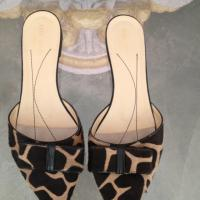 Kate Spade Animal Print Flats Photo