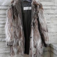 Women's Suede & Fur Coat Photo