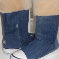 New Denim Sneaker UGG Australia Boots SIZE 8  Photo