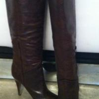 BCBG snake skin boots size 39  Photo