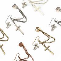 Cross Post Earrings Photo