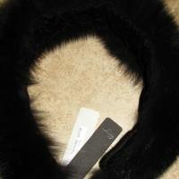 ♥♥♥FOX FUR♥♥♥ BLACK HEADBAND/NECK PIECE MADE IN ITALY,NEW. EXQUSITE, RET. $475! Photo