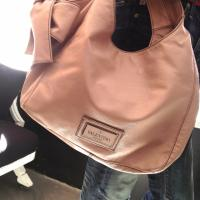 VALENTINO LIGHT PINK HOBO BAG Photo