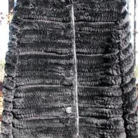 ♥♥SHEARED BEAVER♥♥♥ BLACK JACKET L EXCLUSIVE, NWT, MADE IN Italy, RET $2900! Photo