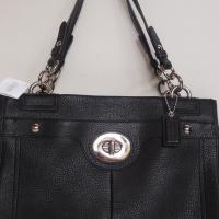 NEW COACH PENELOPE LEATHER CARRYALL 16531 Photo