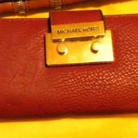Michael Kors Triple Folding Wallet Photo