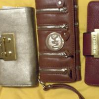 Michael Kors Triple Folding Wallets  Photo
