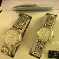 GENEVA HIS & HERS MATCHING WRIST WATCHES Photo