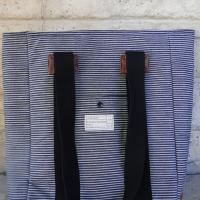 Nautical-esque Striped Padded Tote/Electronic Bag Photo