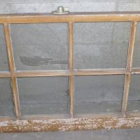 8 pane antique window Photo