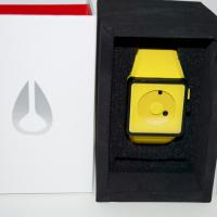 Nixon Newton Rubber Watch Yellow Photo