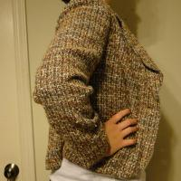 Women's Tweed Fitted Blazer Photo