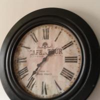 Oversized Wall Clock Photo
