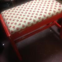 Shabby Chic Lady Bug Stool Photo