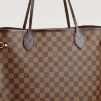 Louis Vuitton Damier Neverfull Tote Bag Photo