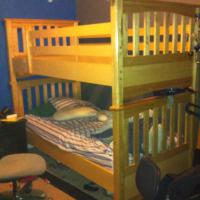Solid wood Bunkbed  Photo